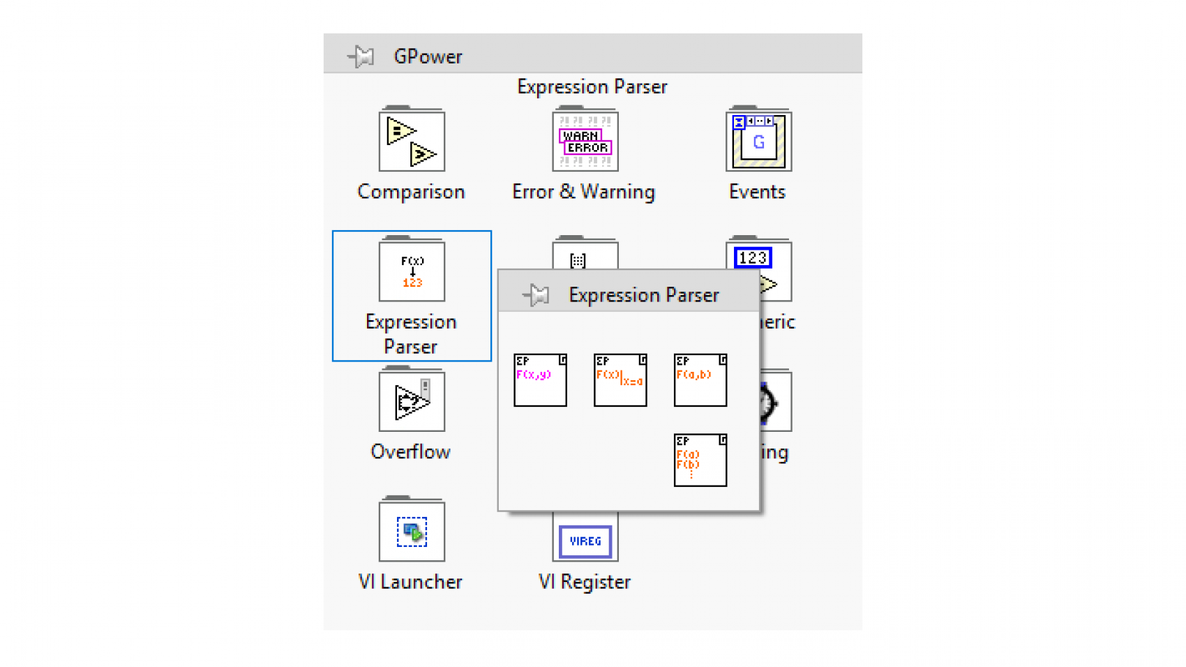 expression-parser-gpower-toolsets